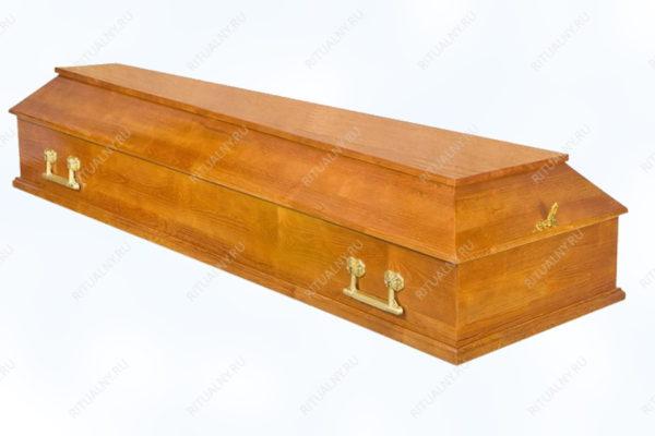 Гроб Питер полированный